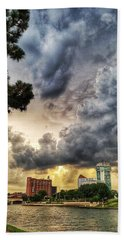Hdr Ict Thunder Beach Towel