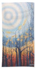 He Lights The Way In The Darkness Beach Towel