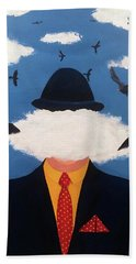 Head In The Cloud Beach Towel