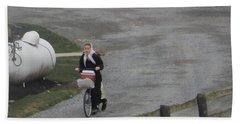 Heading Off To School Beach Towel