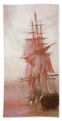 Heading To Salem From The Sea Beach Towel