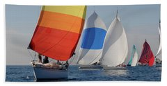 Heading Towind Windward Mark Beach Towel