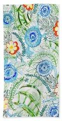 Healing Garden Beach Towel