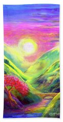 Healing Light Beach Towel