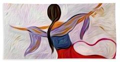Healing Love Beach Towel