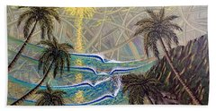 Healing Sunset Beach Towel