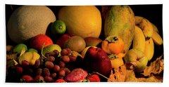 Healthy Food Beach Sheet