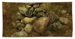 Heap Of Rocks Beach Towel