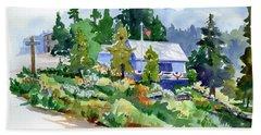Hearse House Garden Beach Sheet