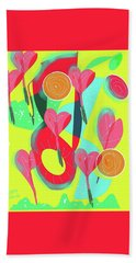 Heart Attack Beach Towel