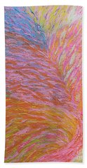 Heart Burst Beach Towel