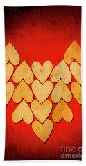 Heart Of Hearts Beach Towel