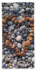 Heart Of Stones Beach Towel