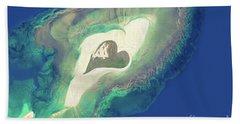 Heart Of The Ocean Beach Towel