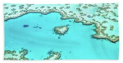 Heart Of The Reef Beach Towel