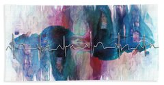 Heartbeat Drama Beach Towel
