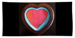 Hearts Afire Beach Towel