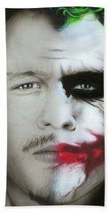Heath Ledger / Joker Beach Towel