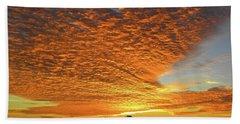 Heaven Sent Golden Sunrise Beach Towel