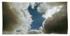 Majestic Clouds  Beach Towel