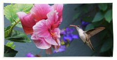 Heavenly Garden Beach Towel