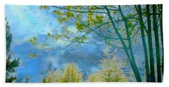 Heavenly Light II Beach Towel
