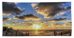Heavenly Skies At The Jersey Shore Beach Towel