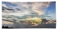 Heaven's Light - Coyaba, Ironshore Beach Towel