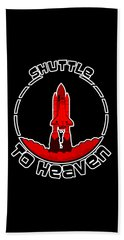 Heavens Shuttle Beach Towel