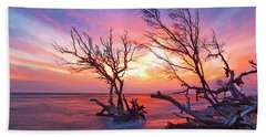 Heavens Sky Beach Towel by James Roemmling