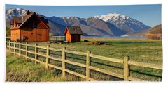 Heber Valley Ranch House - Wasatch Mountains Beach Towel