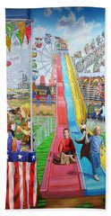 Hecksher Park Fair Beach Towel