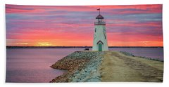 Hefner Sunset IIi Beach Towel