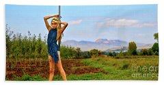 Heidi Estrella #1 Beach Sheet