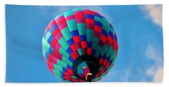 Helen Hot Air Balloon Beach Sheet