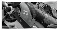 Helldiver's Nose - 2017 Christopher Buff, Www.aviationbuff.com Beach Towel