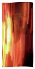 Hellfire 001 Beach Sheet by Lon Casler Bixby