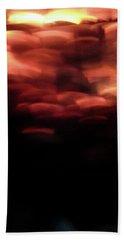 Hellfire 003 Beach Sheet by Lon Casler Bixby