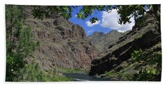 Hells Canyon Snake River Beach Towel