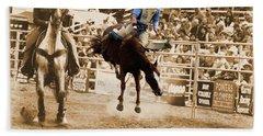 Helluva Rodeo-the Ride 5 Beach Sheet