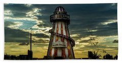 Helter Skelter Beach Towel