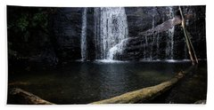 Helton Creek Falls Georgia Beach Towel