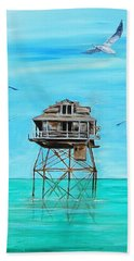 Hemingway Stilt House Beach Towel