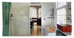 Hemingways' Cuba House Bathroom No. 9 Beach Towel