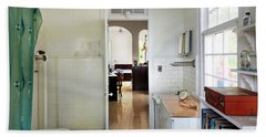 Hemingways' Cuba House Bathroom No. 9 Beach Towel