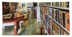 Hemingways' Cuba House Library No.8 Beach Towel