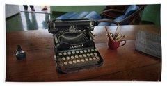 Hemingways' Cuba Typewriter No. 6 Beach Sheet