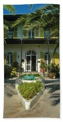 Hemingways House Key West Beach Sheet
