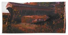 Hemlock Covered Bridge Beach Towel
