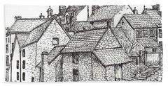 Hemsley Village - In Yorkshire England  Beach Sheet